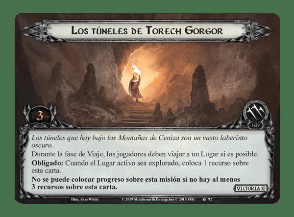El Señor de los Anillos El Juego de Cartas - Bajo las Montañas de Ceniza 1