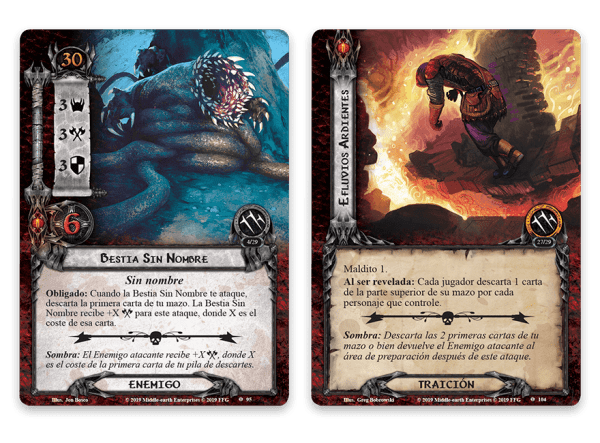 El Señor de los Anillos El Juego de Cartas - Bajo las Montañas de Ceniza 2