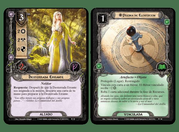 El Señor de los Anillos El Juego de Cartas - Bajo las Montañas de Ceniza 3