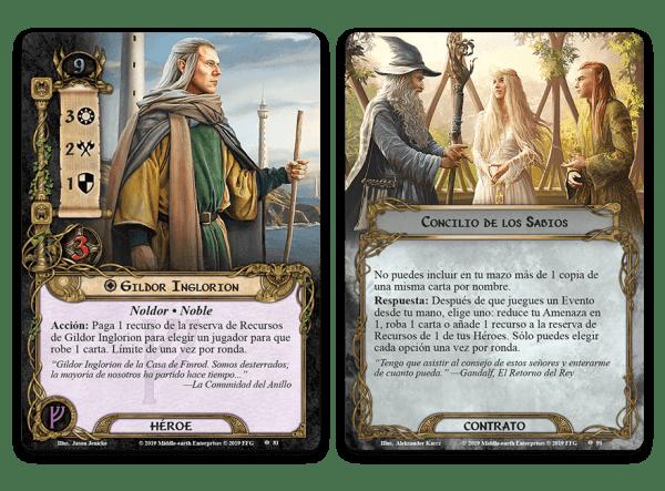 El Señor de los Anillos El Juego de Cartas - Bajo las Montañas de Ceniza 4