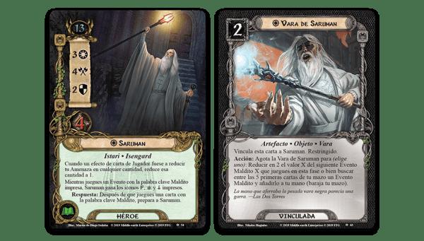 El Señor de los Anillos El Juego de Cartas - El Desafío de los Aurigas 1