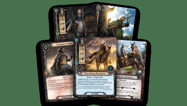 El Señor de los Anillos El Juego de Cartas - El Desafío de los Aurigas 2