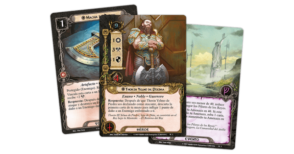 El Señor de los Anillos El Juego de Cartas - Ira y Perdición 2