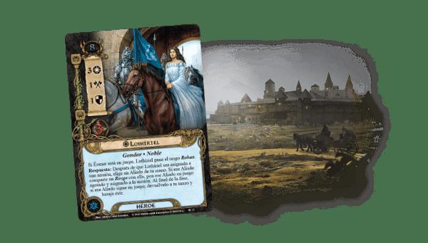 El Señor de los Anillos El Juego de Cartas - La Ciudad de Ulfast 1El Señor de los Anillos El Juego de Cartas - La Ciudad de Ulfast 1