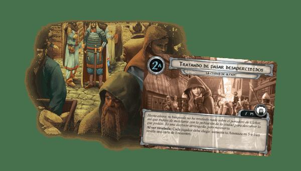 El Señor de los Anillos El Juego de Cartas - La Ciudad de Ulfast 2