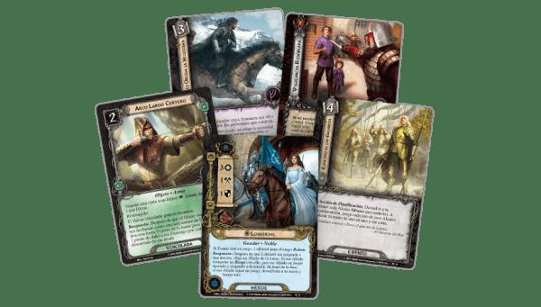 El Señor de los Anillos El Juego de Cartas - La Ciudad de Ulfast 3
