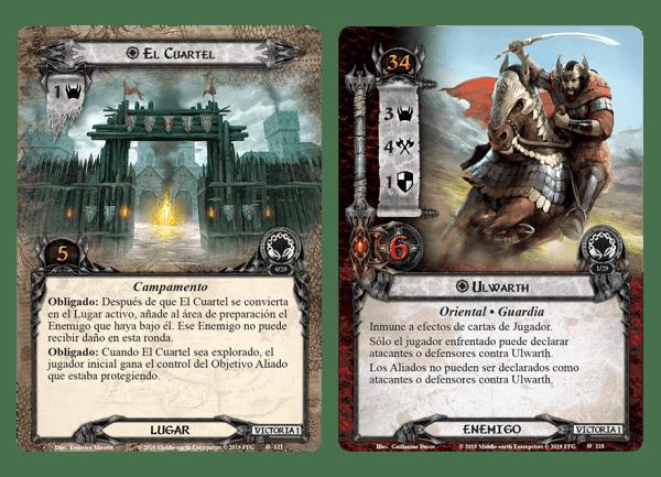 El Señor de los Anillos El Juego de Cartas - La Tierra del Pesar 1