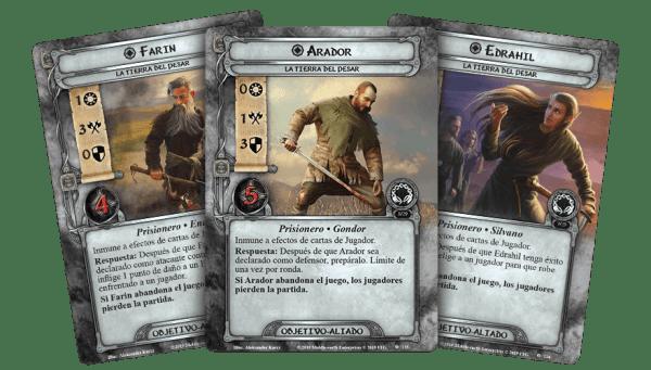 El Señor de los Anillos El Juego de Cartas - La Tierra del Pesar 2