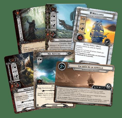 El Señor de los Anillos El Juego de Cartas - Los Puertos Grises 1