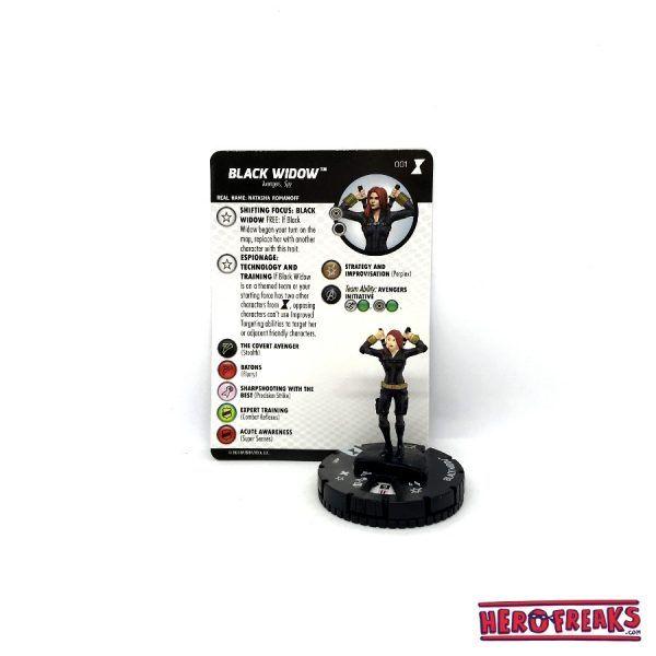 Heroclix Black Widow Movie – 001 Black Widow