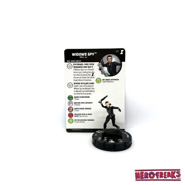 Heroclix Black Widow Movie – 011 Widows Spy