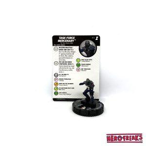 Heroclix Black Widow Movie – 012 Task Force Mecenary