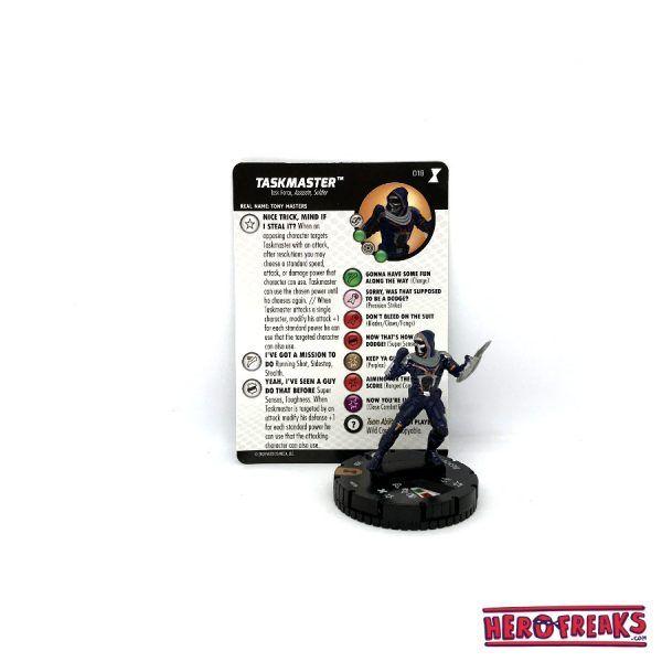 Heroclix Black Widow Movie – 018 Taskmaster