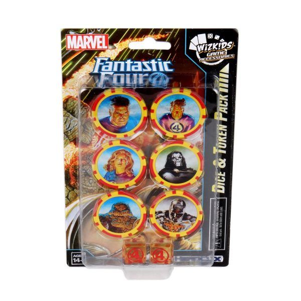 Heroclix Fantastic Four - Dice&Token PAck