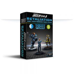 Infinity Code One: Retaliation Dire Foes - Mission Pack