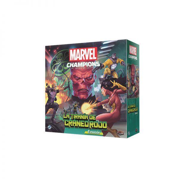 Marvel Champions: La Tiranía del Craneo Rojo