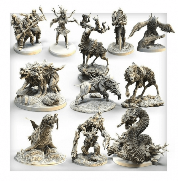 Tainted Grail Monsters of Avalon 1
