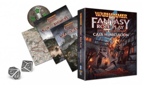 Warhammer El Juego de Rol de Fantasía - Caja de Iniciación 1