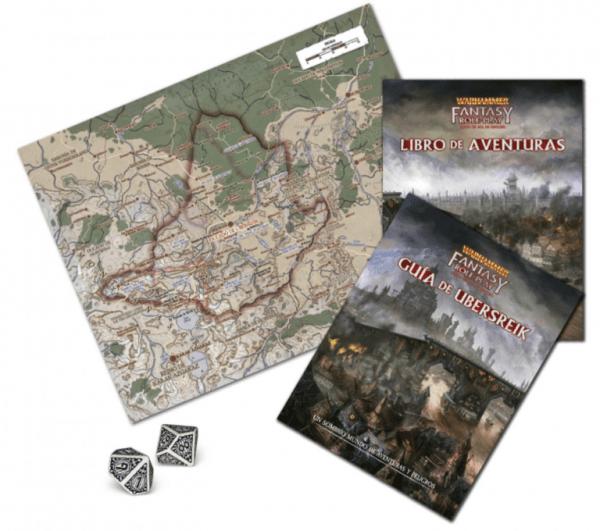 Warhammer El Juego de Rol de Fantasía - Caja de Iniciación 2