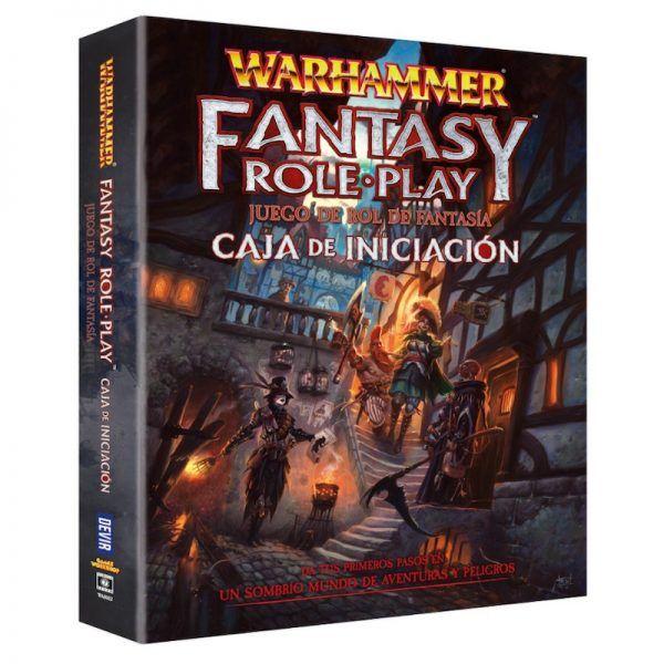 Warhammer: El Juego de Rol de Fantasía - Caja de Iniciación