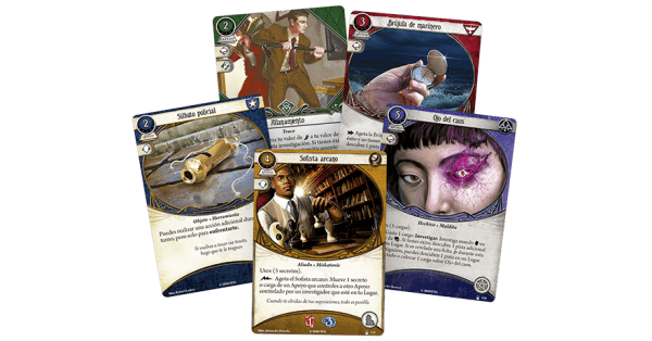 Arkham Horror El Juego de Cartas - Hasta el Cuello 1