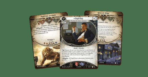Arkham Horror El Juego de Cartas - La Búsqueda de Kadath 1