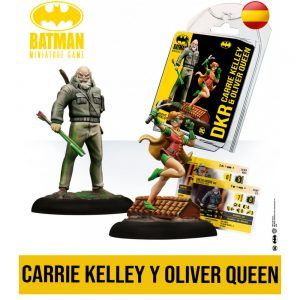Batman Miniature Game: Back to Gotham - Carry Kelley & Oliver Queen