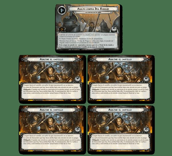 El Señor de los Anillos El Juego de Cartas - La Fortaleza de Nurn 1