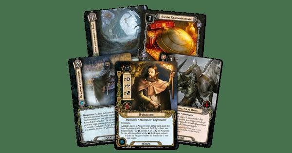 El Señor de los Anillos El Juego de Cartas - La Fortaleza de Nurn 2