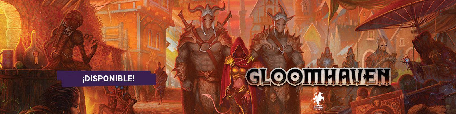 Gloomhaven 2ª Edición Castellano