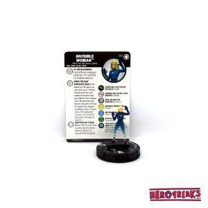 Heroclix Fantastic Four – 002 Invisible Woman
