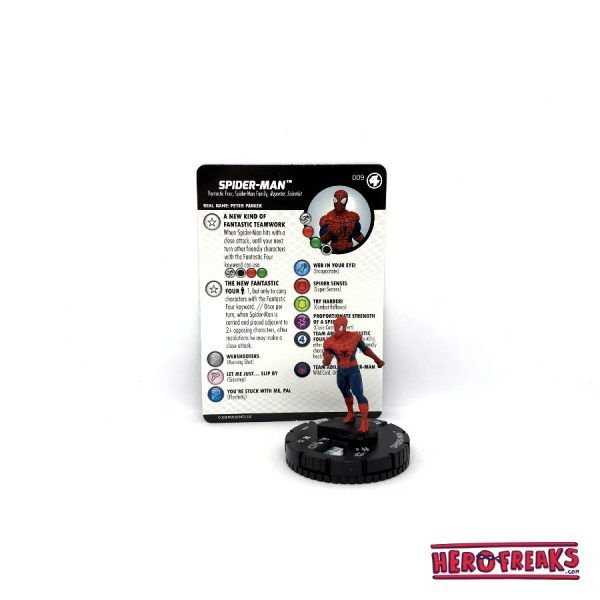 Heroclix Fantastic Four – 009 Spider-Man