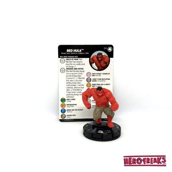 Heroclix Fantastic Four – 010 Red Hulk