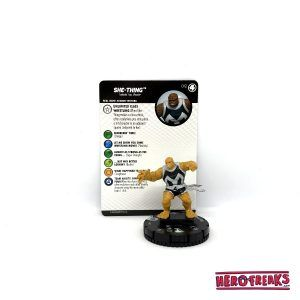 Heroclix Fantastic Four – 012 She-Thing