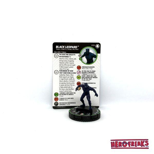 Heroclix Fantastic Four – 013b Black Leopard