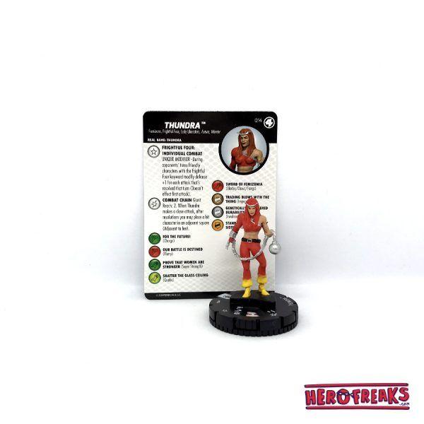 Heroclix Fantastic Four – 014 Thundra