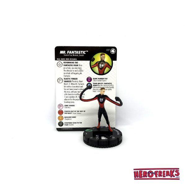 Heroclix Fantastic Four – 017 Mr. Fantastic