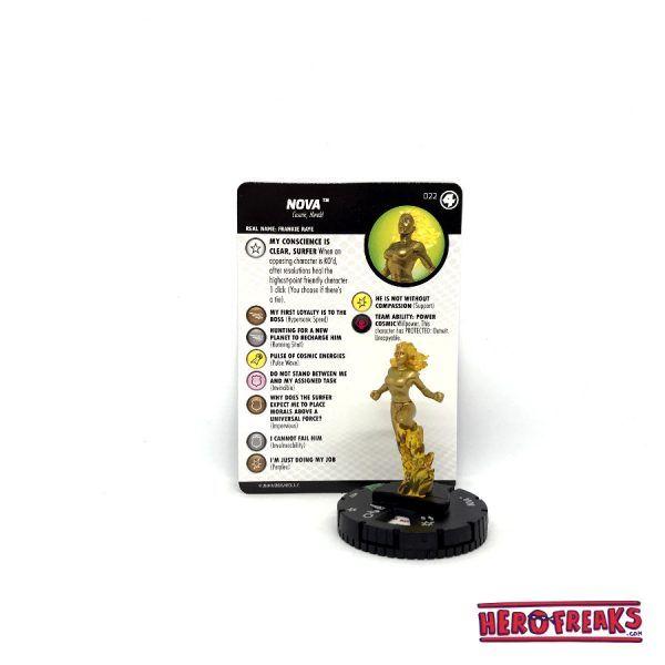 Heroclix Fantastic Four – 022 Nova