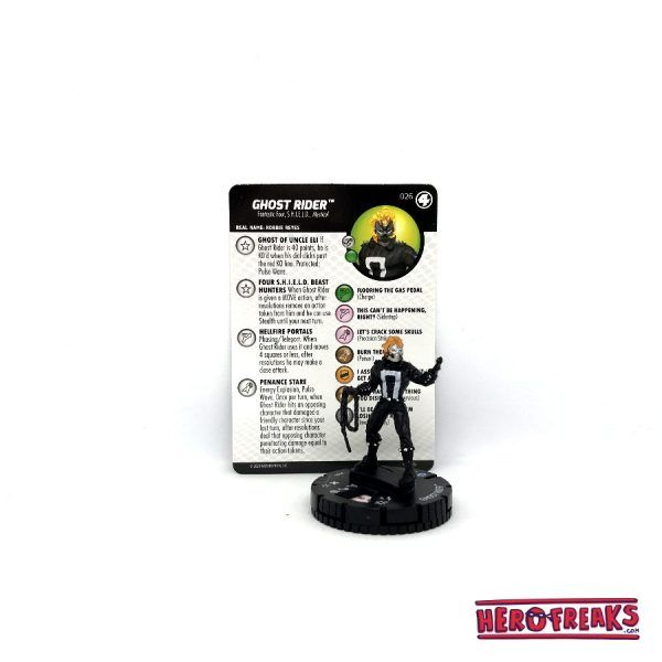 Heroclix Fantastic Four – 026 Ghost Rider