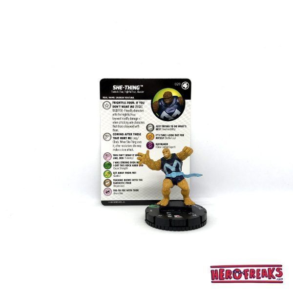 Heroclix Fantastic Four – 028 She-Thing