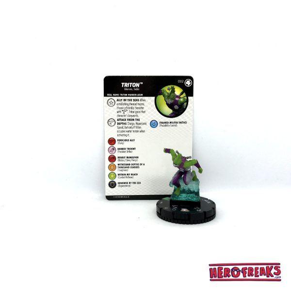 Heroclix Fantastic Four – 032 Triton