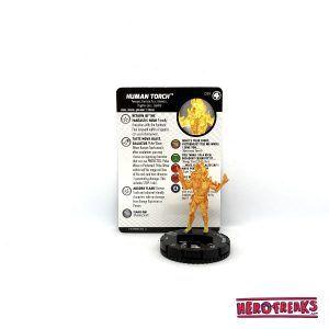 Heroclix Fantastic Four – 035 Human Torch