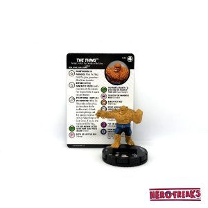 Heroclix Fantastic Four – 036 The Thing