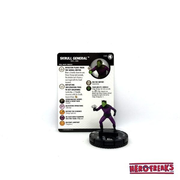 Heroclix Fantastic Four – 040 Skrull General