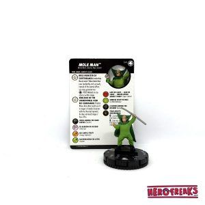 Heroclix Fantastic Four – 041 Mole Man
