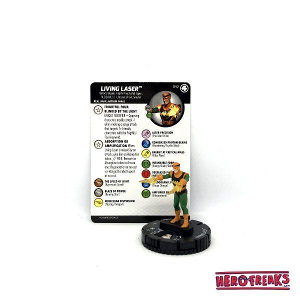 Heroclix Fantastic Four – 042 Living Laser