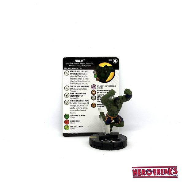 Heroclix Fantastic Four – 056 Hulk
