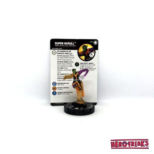 Heroclix Fantastic Four – 058 Super Skrull