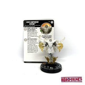 Heroclix Fantastic Four – 061 God Emperor Doom