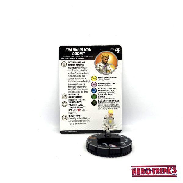 Heroclix Fantastic Four – 064 Franklin Von Doom